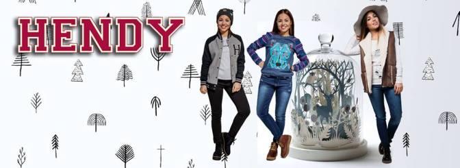 Hendy lanzó una   colección súper tean con jeans, buzos y camperas como protagonistas