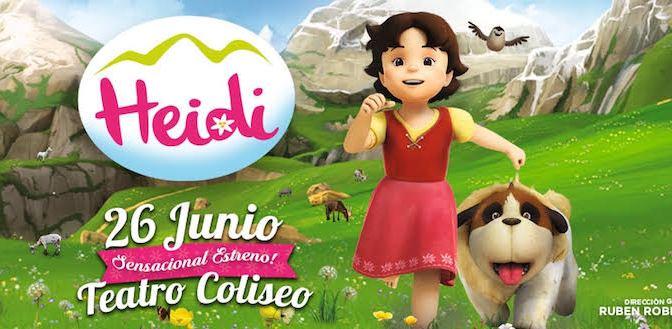 Llega Heidi a la argentina con un musical de lujo