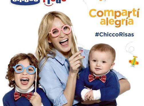 """Inspirada en los momentos más felices Chicco presenta su campaña """"ChiccoRisas"""""""