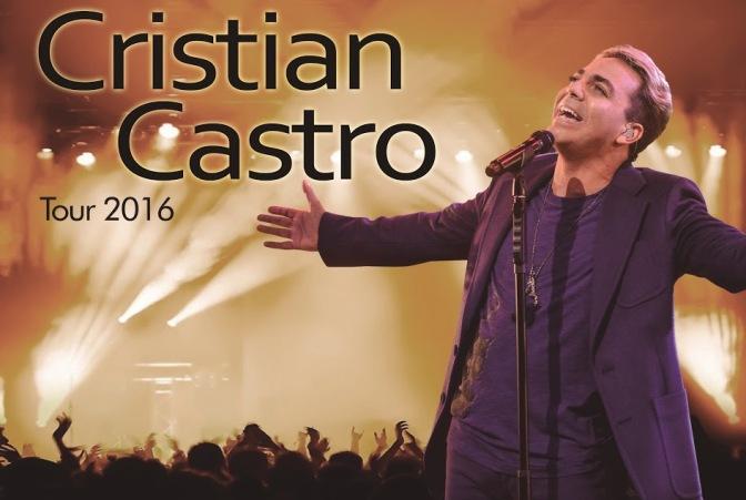 Cristian Castro regresa a la Argentina con su #Tour2016