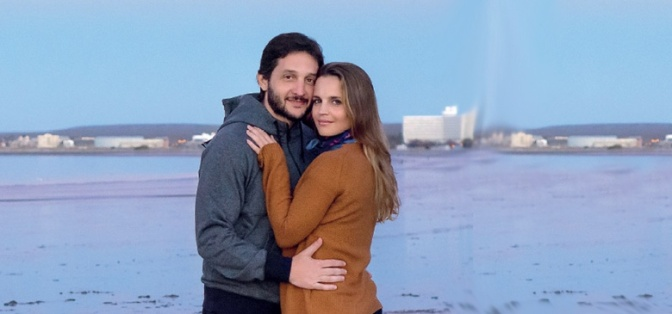 Las vacaciones románticas de Germán Paoloski y Sabrina Garciarena