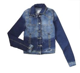 Campera denim $110