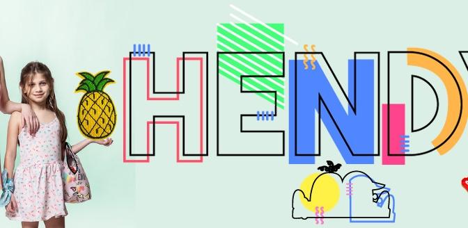 Parches y Pins se imponen en la nueva colección de Hendy