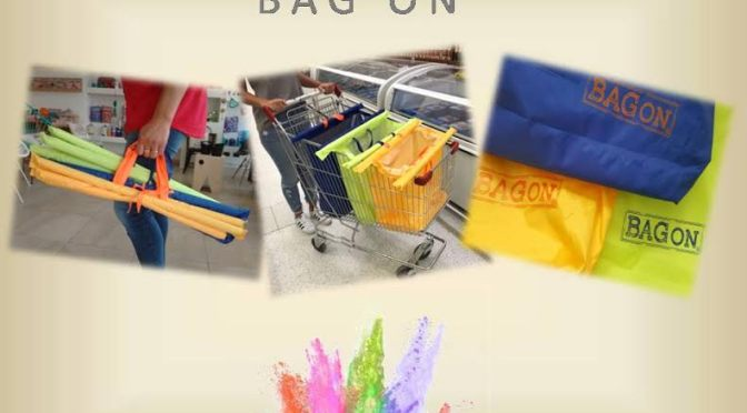 BAG ON: únicos ecobolsos pensados para ir al súper y comprar cuidando el medio ambiente