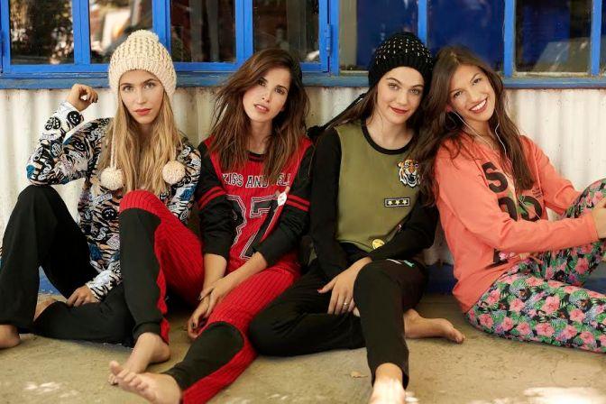 Pijamada bien trendy junto a Sweet Victorian