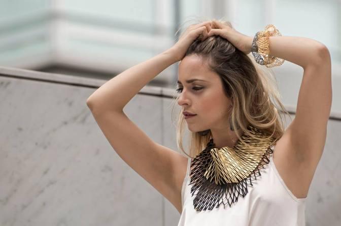 Norma Rinaudo: más volumen y diseños en sus renovadas joyas textiles