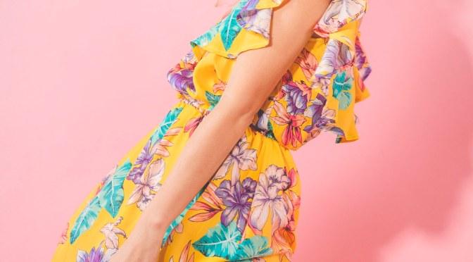 Kiara y una colección bien trendy