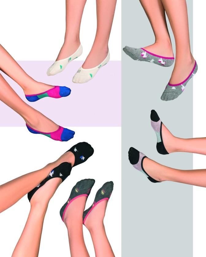 Exclusivas bandas protectoras para sandalias y gran variedad de medias en la nueva temporada de Cocot