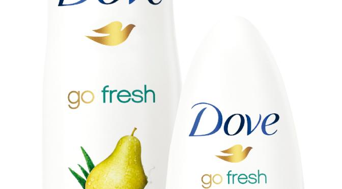 Toda la frescura de la pera y el aloe vera en el nuevo Dove Go Fresh