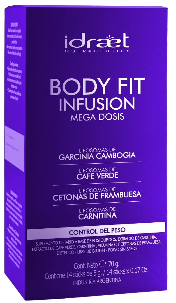 Body Fit infusión de Idraet, el stick perfecto para mantener tu silueta