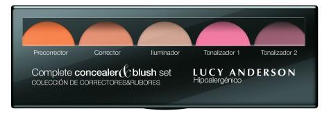 complete concealer&blush set