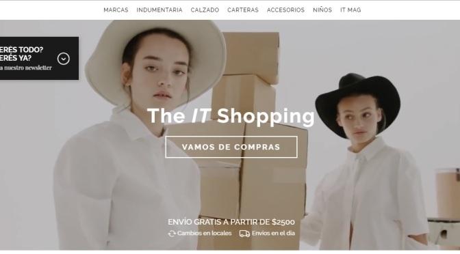 Llegó el shopping virtual más grande de Argentina