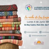 Llega la Noche de las Frazadas, una iniciativa solidaria para combatir el frío