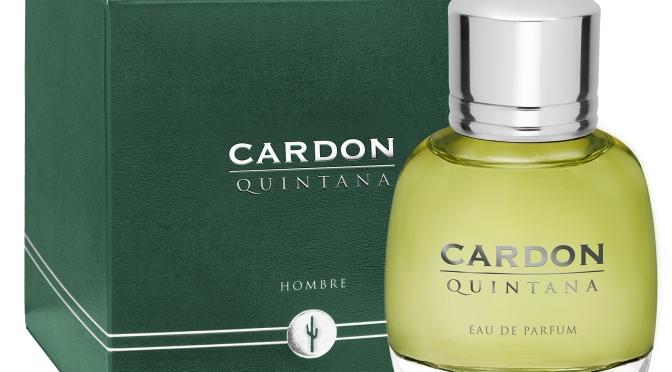 Cardon presenta su nueva fragancia para hombre: Quintana