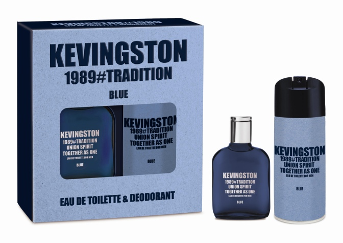 "KEVINGSTON PRESENTA PACKS LA SU NUEVA FRAGANCIA ""1989 BLUE"" PARA REGALARLE A PAPÁ"