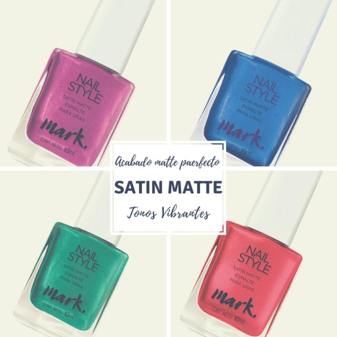 Avon presenta Satin Matte: Mayor cobertura, acabado matte perfecto y tonos vibrantes para tus uñas