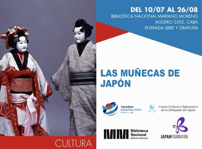 La exposición: Las muñecas de Japón llega a Buenos Aires