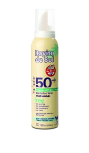 Rayito Protector Solar Mousse FPS 50 SIN Tacc