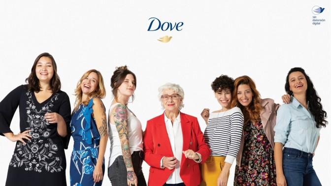 """Dove lanza su campaña """"Sin Distorsión Digital"""" con el fin de promover las fotos sin retoques"""
