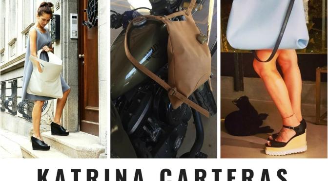 Katrina: carteras de diseño para andar tranquilas por toda la ciudad