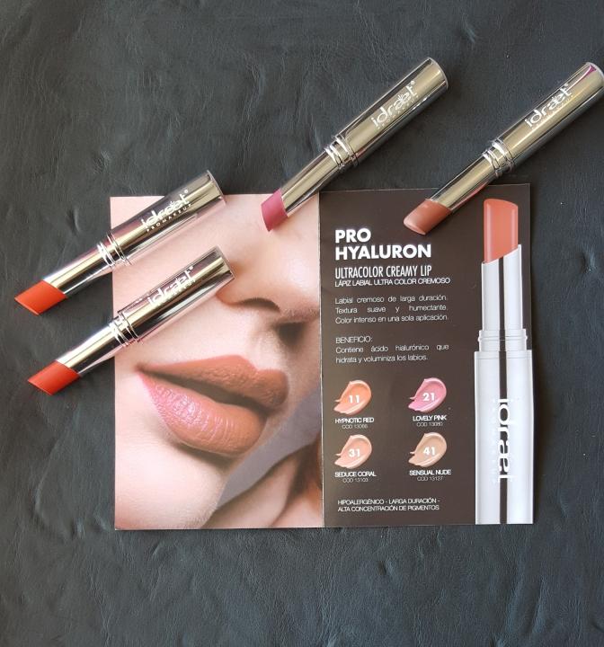 Pro Hiyaluron Ultracolor Matte Lip la línea de labiales mate de Idraet Pro Make que te va a enamorar