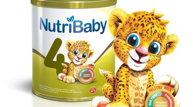 Nutribaby 4: Única fórmula infantil premium con simbióticospara niños de 3 a 5 años