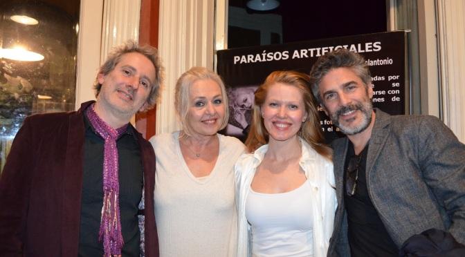 Leonardo Sbaraglia asistió al estreno de Paraisos Artificiales