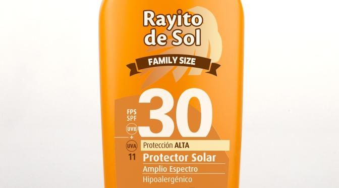 Rayito de Sol lanza FPS 30 Family Size