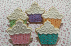 Cupcakes en estrella