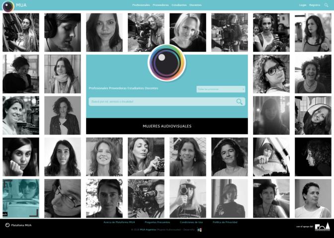 """Se lanza """"Plataforma MUA"""" la red social laboral gratuita creada por Mujeres Audiovisuales"""