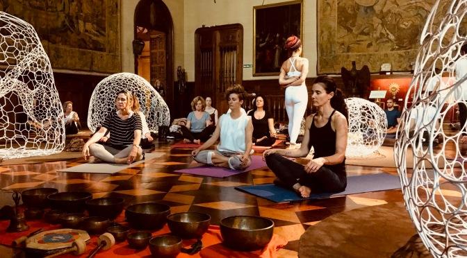 Yoga + Arte, una experiencia inédita en el Museo Nacional de Arte Decorativo
