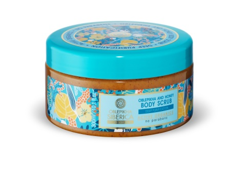 Oblepikha and Honey Body Scrub-BJ