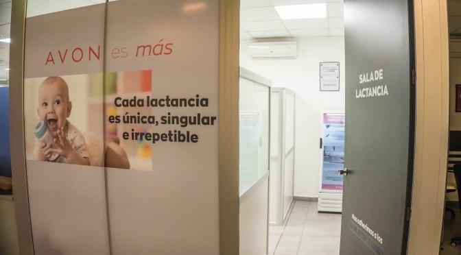 AVON inauguró lactarios en sus plantas de Moreno y Victoria