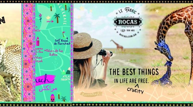 África: la colección otoño invierno de Rocas inspirada en Marruecos y la aventura del Safari