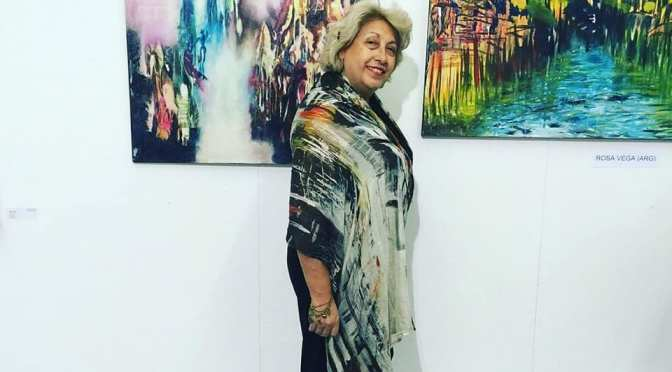 Rosa Vega presenta la muestra Cultural Internacional, Argentina, Ruso Alemana: Bellezas del Mundo en la Casa de Rusia