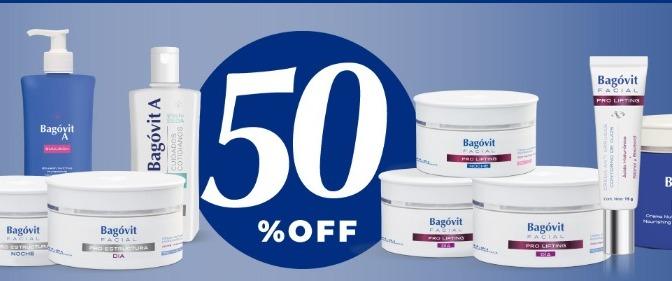 Bagovit rebajó tus productos preferidos al 50%