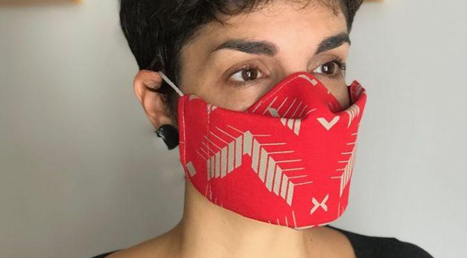 Valeria Nicali nos presenta sus cubre bocas de diseño