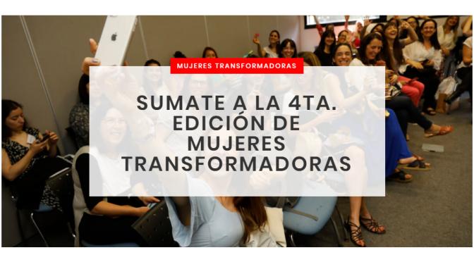 DISCO LANZA LA 4TA. EDICIÓN DE MUJERES TRANSFORMADORAS