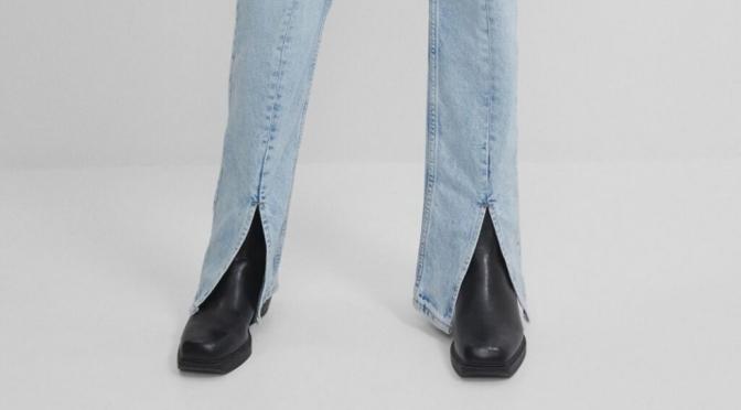 Estilo: pantalones con aberturas