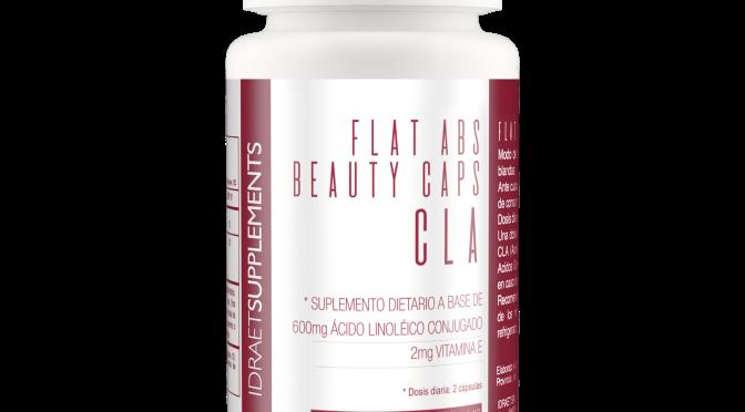 Flat Abs Beauty Caps Cla la propuesta de Idraet Supplements para lograr un abdomen plano